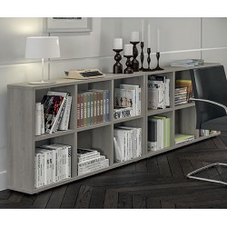 Bibliotheque 6 cases H84xL121xP30 cm classic