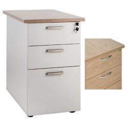 Caisson hauteur Bureau Office 3 tiroirs dont 1 ds P60 cm