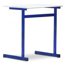Tables scolaires Margot stratifié Alaise bois 70x50 cm T4 à T7