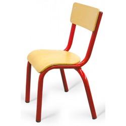 Chaise maternelle 4 pieds Elise TC à T3