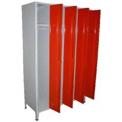 Armoire vestiaire monobloc industrie propre 4 cases