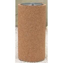 Corbeille Kumquat en béton ronde 110L gravillon lavé
