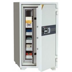 Coffre ignifugé pour supports sensibles 143L serrure électronique L69xP72xH122 cm