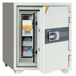 Coffre ignifugé pour supports sensibles 80L serrure électronique L69xP72xH83 cm