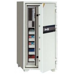 Coffre ignifugé pour supports sensibles 180L serrure A2P L69xP72xH130 cm