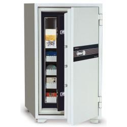 Coffre ignifugé pour supports sensibles 143L serrure A2P L69xP72xH122 cm