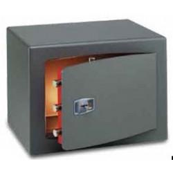 Coffre fort 31L à clé double panneton L40xP35xH28 cm