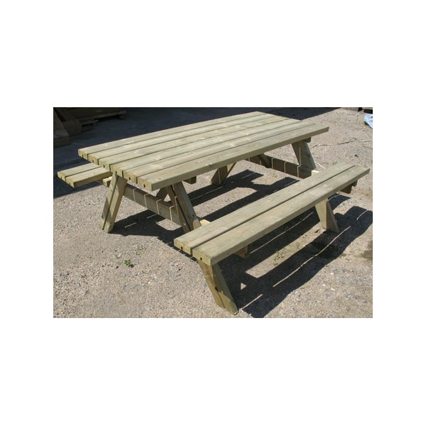 Table de pique-nique Eco 177 x 153 x H70 cm