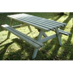 Table de pique-nique bois Accra L150 cm