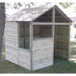 La cabane du trappeur (2 à 10 ans)