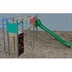 L'ensemble de jeux Wichita glissière polyester (3 à 8 ans)
