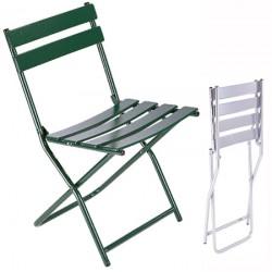 Chaise pliante métal extérieure blandine