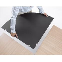 Plan de jonction table Oxygène 80x80 cm
