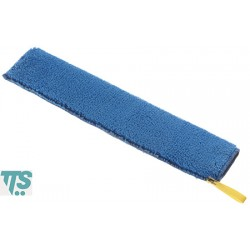 Frange en microfibre bleue 60x9cm