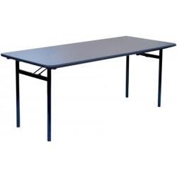 Table pliante 4 pieds Gamma 180x80 mélaminé 22 mm chanc antichoc