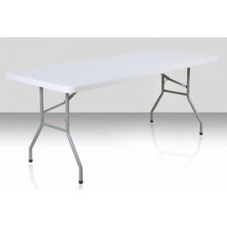 Table pliante polyéthylène Eco 152x76 cm