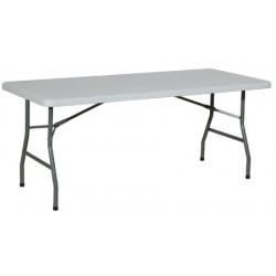 Table pliante polyéthylène Qualiplus 152x76 cm
