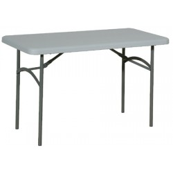 Table pliante polyéthylène Qualiplus 122x60 cm
