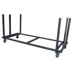 Chariot pour 20 tables 183x76 cm Qualiplus