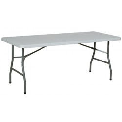 Table pliante polyéthylène Qualiplus 183x76 cm