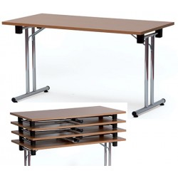 Table pliante empilable 160x80 cm