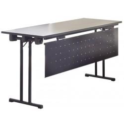 Voile de fond amovible 140x40cm pour table de conference Beta