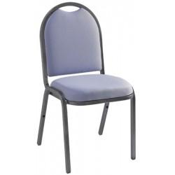 Chaise empilable Eleanor tissu non feu M1