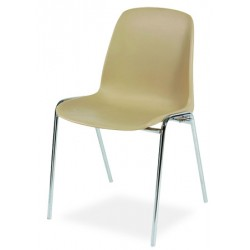 Chaise coque empilable et accrochable Sophie II M2