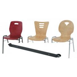 Barre d ecartement pour chaises coques bois