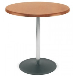 Table Lena hêtre naturel diam. 80 cm H75 cm T6