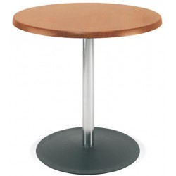 Table Lena hêtre naturel diam. 60 cm H75 cm T6