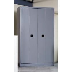 Armoire métallique portes pliantes 198x120 cm