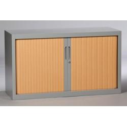 Armoire métallique monobloc à rideaux 69x120 cm