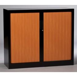 Armoire métallique monobloc à rideaux 102x100 cm