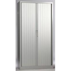Armoire métallique monobloc à rideaux 198x100 cm