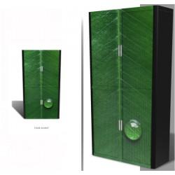 Personnalisation armoire à rideaux Futura H204 cm face avant