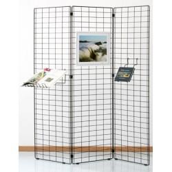 Grille d'exposition Bermudes 3 panneaux 150x60 cm