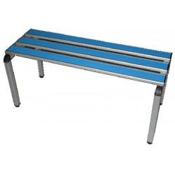 Banc aluminium et stratifié L100 cm