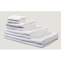 Drap de bain 100x150 cm coton blanc 420 g