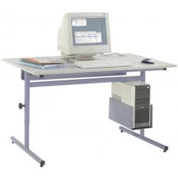 Table informatique Alpha fixe 150x90 cm
