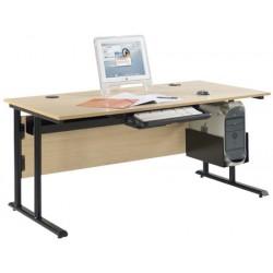Bureau informatique de professeur 160x80 cm