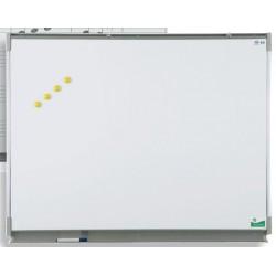 Tableau mural émaillé NF éducation E3 ( blanc feutre ) 120x300 cm