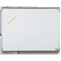 Tableau mural émaillé NF éducation E3 ( blanc feutre ) 120x200 cm
