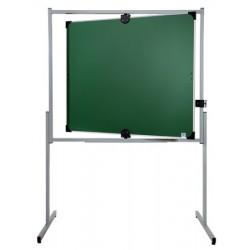 Tableau pivotant horizontal et vertical 100x120 cm 2 face vertes