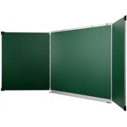 Tableau d'écriture vert triptyque 100x150 cm NF Education