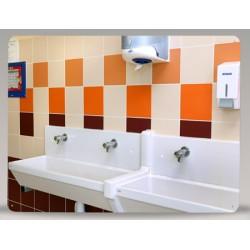 Miroir de sanitaire incassable Plexichok 600x800 mm