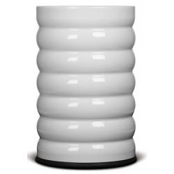 Corbeille à papier Elégance design 17 l blanc