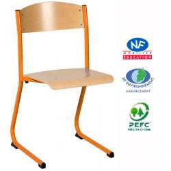 Chaise Lulu appui sur table T6