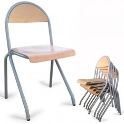 Chaises 4 pieds et appui sur table Julia T4 à T7