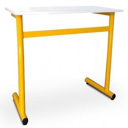 Table scolaire Clémentine stratifié alaise bois 70x50 cm T4 à T7